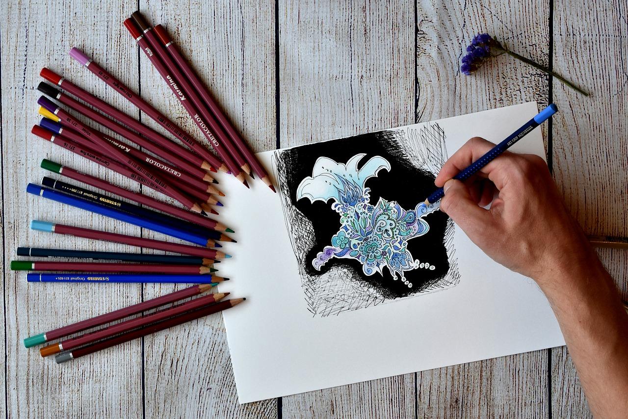 Tríptico ilustrado