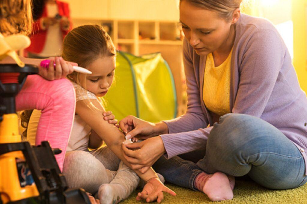 Trípticos sobre la Prevención de Accidentes en la Escuela